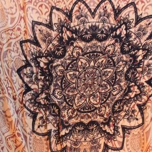Groovy Tapestry Tassel Kimono/ Wrap